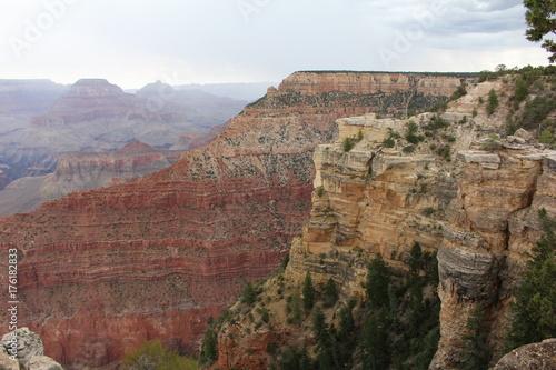 Papiers peints Blanc Grand Canyon