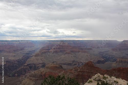 Fotobehang Chocoladebruin Grand Canyon