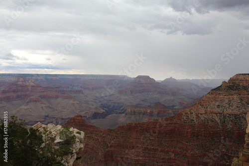 Papiers peints Marron chocolat Grand Canyon