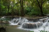 Hua Mae Kamin Waterfall, Kanchanaburi, Thailand