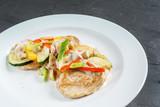 chicken with vegetebles - 176194435