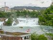 Rhine Falls in Switzerland - 176200881