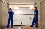 Contractors Installing, Repair, Insulating Garage Door. Garage d - 176201686