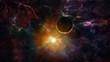 Space. Sci fi. A stars, planets, nebulas.