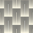Endless Black and White Wallpaper. Retro Graphic Design