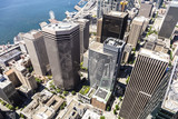 Aerial view of Seattle skyline in USA - 176223024