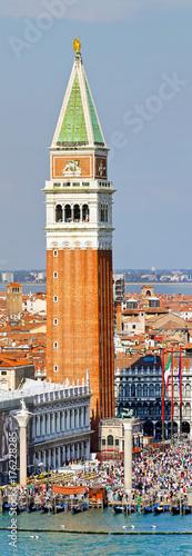 Staande foto Venetie Venice tower San Marco