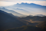 Mountains in a morning fog, Sri Lanka - 176236214