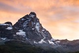 Matterhorn in sunrise light