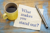 What make you stand out? - 176262031