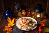 Potato dumpling originating from Poland - 176263643