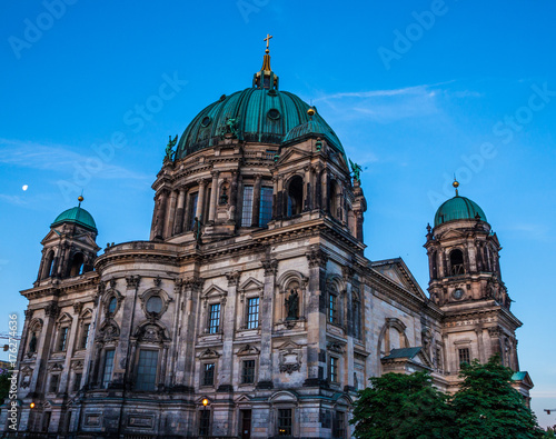 Foto op Aluminium Berlijn Beautiful view of historic Berlin Cathedral (Berliner Dom) at sunrise, Berlin, Germany