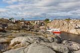 Landsort, old fishing village in Stockholm archipelago. - 176278293