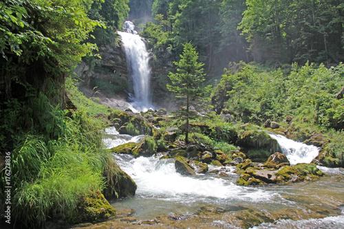 Giessbachfälle, Brienz, Schweiz  - 176278836