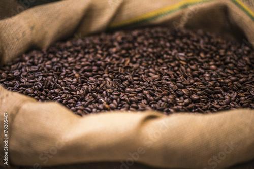 Papiers peints Café en grains grains de café