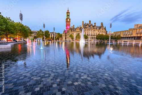 Mirror Fountain City Park Bradford UK