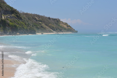 Spoed canvasdoek 2cm dik Bali Pandawa beach - Bali