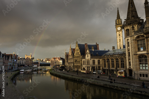 Fotobehang London Ghent Canal