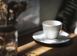 A trendy coffee shop in the city - 176330416