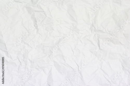 mata magnetyczna White paper wrinkled texture or background for your design