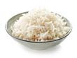 Bowl of boiled long grain rice - 176340638