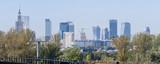Warszawa, panorama miasta - 176354073