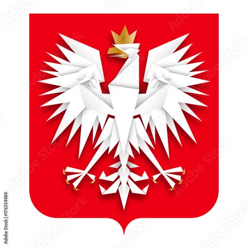 godło Polski wektor