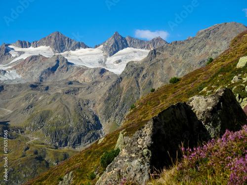Fotobehang Landschappen Stubaier Alpen in Tirol