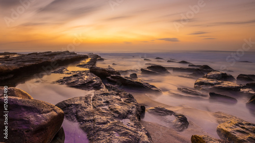 Keuken foto achterwand Zee zonsondergang Sunrise