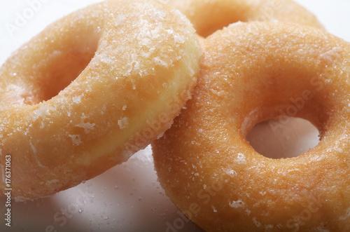 Sugar glazed doughnuts Poster