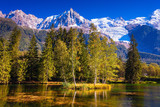 Early fall in Shamoni, Haute-Savoie - 176376892