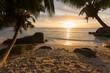 Sunset on the Seychelles
