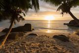 Sunset on the Seychelles - 176378250