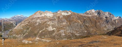 Panorama französische Alpen