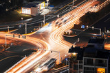 Speed motion at night - 176390022