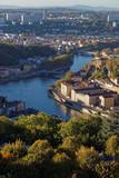 Quais de Saône depuis Fourvière