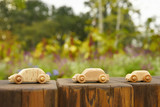 Miniature wooden cars - 176394420