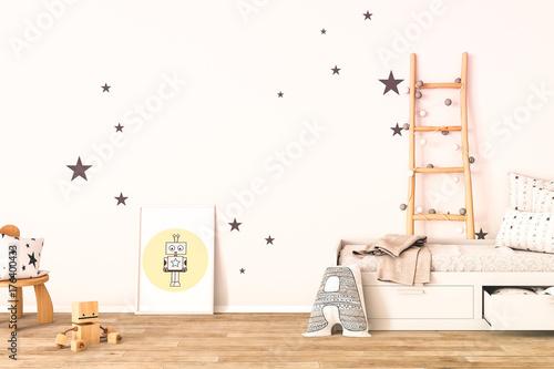 interior of a childrens´ playroom