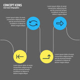 Vector Illustration Of 4 Sign Icons. Editable Pack Of Update, Tab, Right And Other Elements. - 176401034