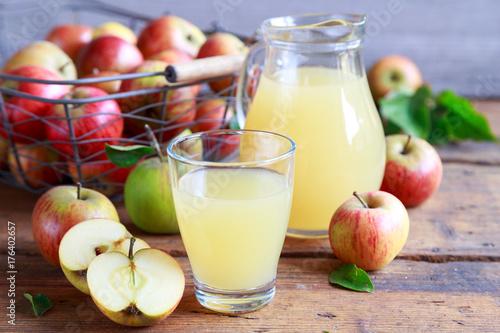 Apfelsaft Poster