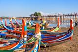 Mandalay Myanmar Boats - 176407828