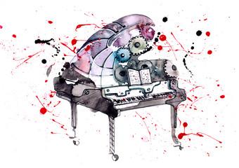 piano © okalinichenko