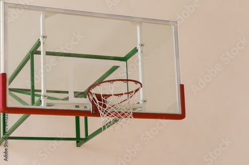 Fotobehang Basketbal Basketball board and basket