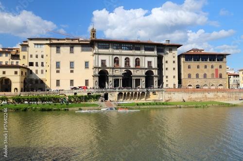 Keuken foto achterwand Toscane Florence - Uffizi
