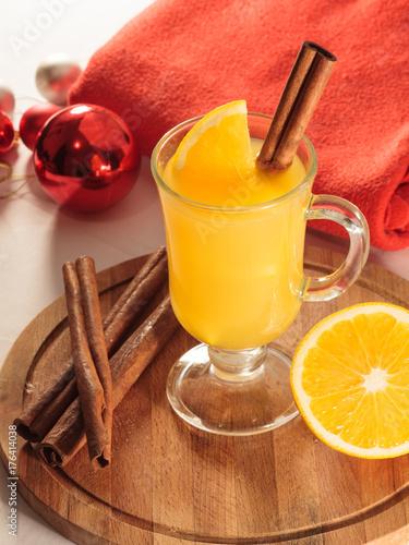 Keuken foto achterwand Sap cider wassail christmas drink