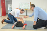 first-aid course - 176425498