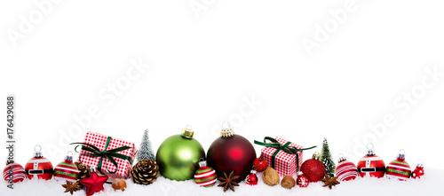 Foto Murales Weihnachten Banner Geschenke