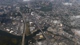 An aerial view above the New York City's Eastchester district.   - 176466660