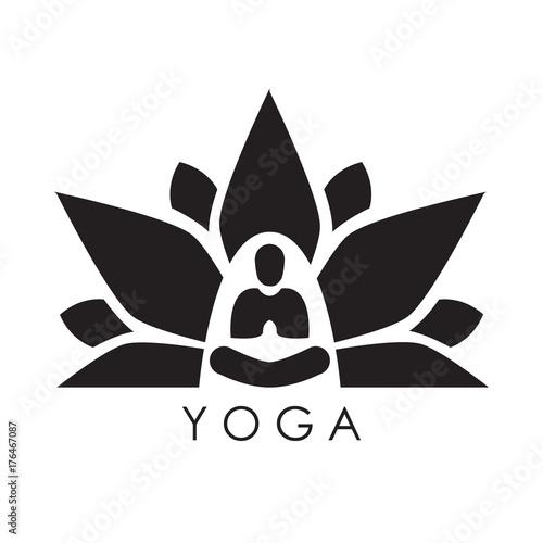 Lotus Yoga Aura Black