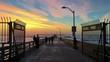 Gate entrance to the Ocean Beach Pier, California, USA - 176468215